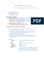 Plan de Negocio Inforaticos Yoma Erl