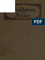 Bolshevism; Its Cure by David Goldstein (c1919)
