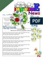 Storytime News May 2014