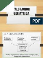 valoracion geriatrica