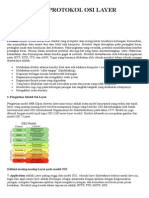 Pengertian Protokol Osi Layer Dan Tcpip