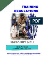 TR Masonry NC I