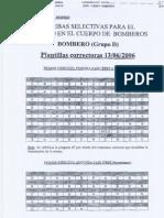 Exámenes de bombero de la Comunidad de Madrid CORRECCIÓN