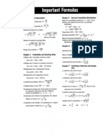 Bluman 6th Ed Stats Formulas