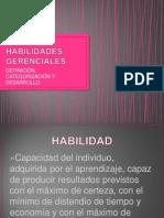 Habilidades Gerenciales Fundamentos 2014-1