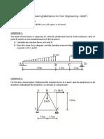 Quiz1 2014 Solution CVEN1300