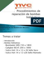 Procedimientos de Reparación de Bombas Hidráulicas