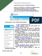 Guía Curso Finanzas Personales