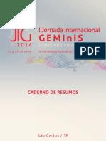 Convite - Programação Completa ( JIG - 2014)