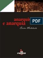 Anarquismo e Anarquia Errico Malatesta