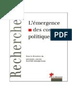 Lolive, Jacques e Soubeyran, Oliver - L'Émergence Des Cosmo-politiques (Recherches) Tradu