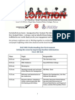 Prevent People Trafficking June 2014 Conference Programme