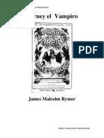 Varney El Vampiro de James Malcolm Rymer - Versión en Español