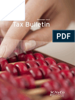 Tax Bulletin - September 2012