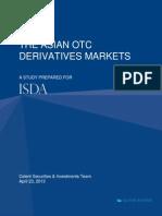 Celent ISDA Asian OTC Derivatives Markets FINAL