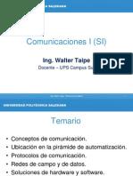 Comunicaciones Cap I