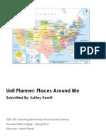 EDEL453 Spring2014 AshleyHEWITT Unit Plan