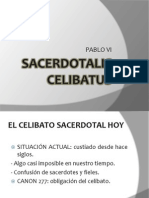 SACERDOTALIS CELIBATUS