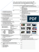 Actividad Integradora 1er Cuatrimestre Produccion y Gestion 2013 1