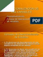 2.9.3 Operacionalización de Variables