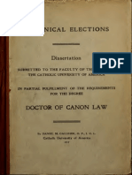 Canonical Elections (1917)