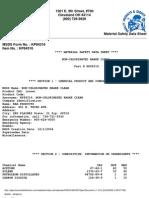 KAR Products - Non-chlorinated brake clean