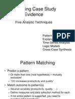 Yin - Analyzing Case-study Evidence - Chapter 5 Part 2