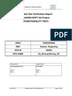 3G SSV Drive Test Report 100303 Kp Binong-Binong 3G (After)