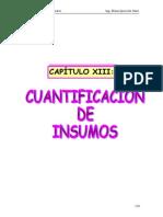 Cuantificacion de Materiales Mezclas