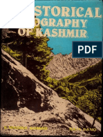 Historical Geography of Kashmir - S Maqbul Ahmed Raja Bano