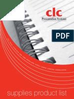 CLC Presentation Supplies
