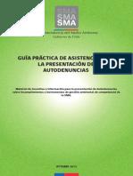 Guía Práctica de Asistencia Para La Presentación de Autodenuncias