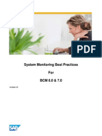 System monitoring  Practices for BCM 6.0 & 7.0