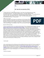 Perlas Informativas Noviembre 2011