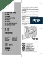 Sharp CD Xp20