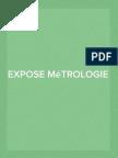 Expose Metrologie