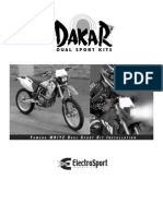 Wr400f Electrosport 94 246dk Fitting Instructions