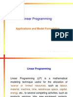 Linear Programming 2012-13