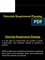 Material Requirement Planning 2013