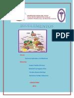 Informe de Bioelementos