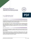 Course Guide_Advanced Course_Quantity Surveying