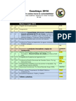 Programa Final Semana Academica 30 Abril