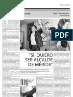 Nerio Torres quiere ir por la alcaldía de Mérida