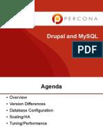 Drupal Mysql Webinar Percona