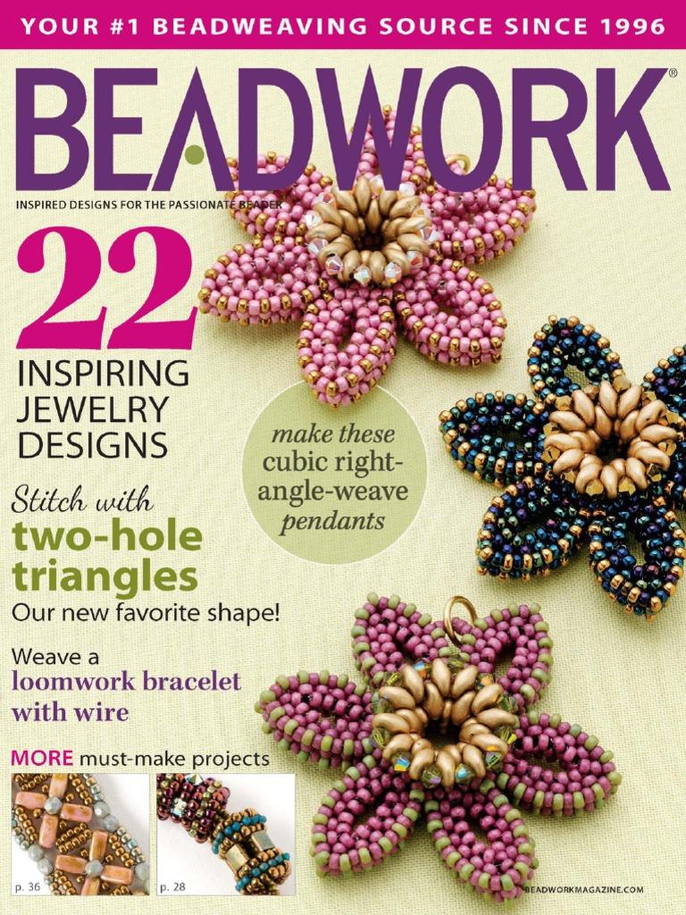 Beadwork   June July 25   Beadwork   Bead