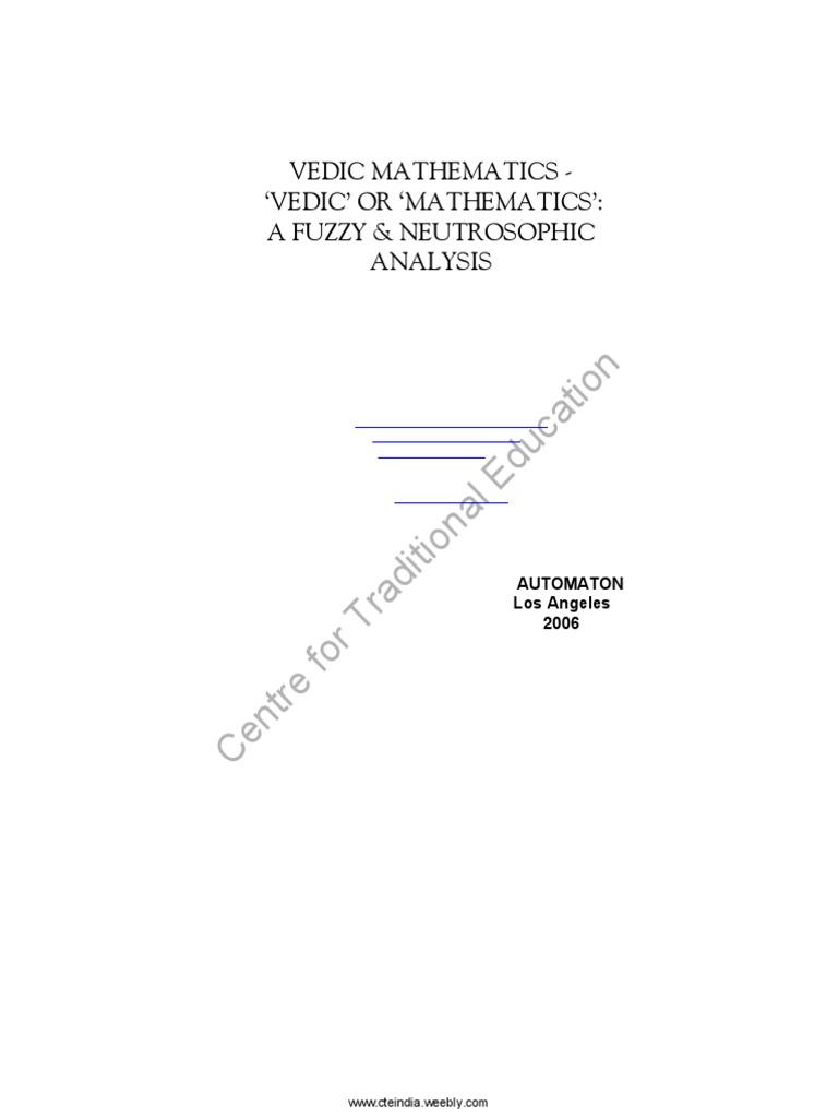 Vedic mathematicspdf multiplication division mathematics fandeluxe Gallery