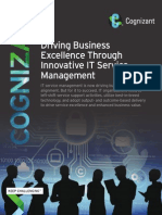 Driving Business Excellence through Innovative IT Service Management