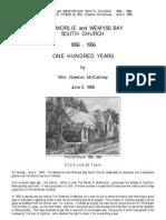 Skelmorlie - South Church - 100 Years - 1856 - 1956 - Booklet - Wm  Newton McCartney