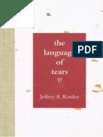Jeffrey Kottler - The Language of Tears