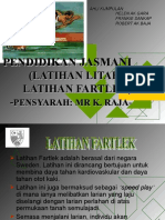 Latihan Fartlek & Litar